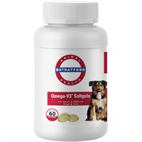 Omega-V3 for Small & Medium Dogs & Cats (60 Softgels)