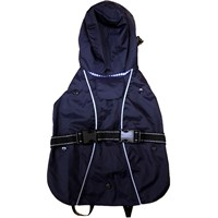 One For Pets All-Weather Dog Coat - Navy 14""