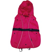 """One For Pets All-Weather Dog Coat - Pink 29"""""""