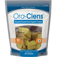 Ora-Clens Oral Hygiene Chews Medium (30 Chews)