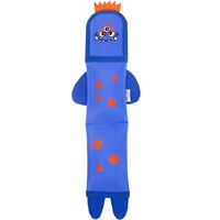 Outward Hound Fire Biterz - 2 Squeaker Sea Monster (Blue)