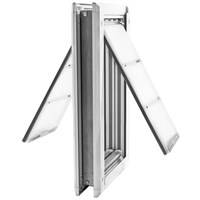 "Patio Pacific Endura Flap Extra Large Door Mount - Double Flap (12"" x 22"")"
