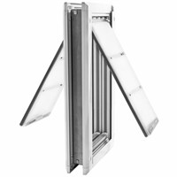 "Patio Pacific Endura Flap Medium Door Mount - Double Flap (8"" x 14"")"