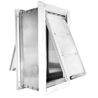 "Patio Pacific Endura Flap Medium Wall Mount - Double Flap (8"" x 14"")"