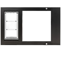 "Patio Pacific Thermo Sash 3e Bronze Cat Door - Small (31""-34"")"