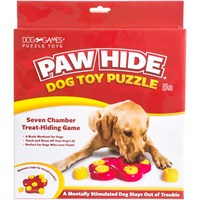 NEW! Kyjen Paw Hide Dog Toy Puzzle