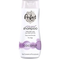 Perfect Coat White Pearl Shampoo & Conditioner Coconut (16 oz)