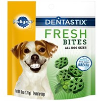 Pedigree Dentastix Fresh Bites (6 oz)