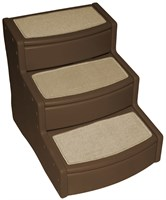 Pet Gear Easy Steps lll - Extra Wide - Chocolate