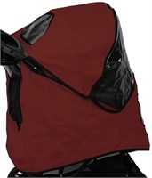 Pet Gear Weather Cover for AT3 Generation ll Stroller - Red Poppy