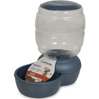 Petmate Replendish Feeder with Microban (18 lb) - Pearl Peacock Blue