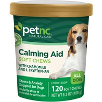 PetNC Natural Care Calming Aid Soft Chews (120 count)