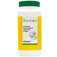 Pet-Tabs Regular for Dogs (60 Tabs)