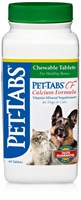 Pet-Tabs CF Calcium Formula for Dogs and Cats (60 tabs)