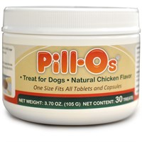 Pill-Os Tasty Pilling Treats One Size - Chicken (30 Count)