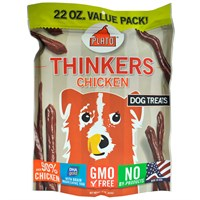 Plato Thinkers Chicken Sticks Dog Treats (22 oz)