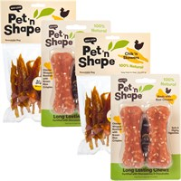 TREAT BUNDLE (2-Long Lasting Chewz Bone) + (2-Chic 'n Skewers)