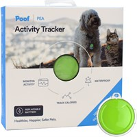 Poof Pet Tracker - Pea (Lime)