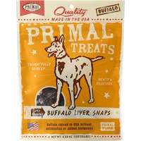 Primal Dry Roasted Liver Chunks - Buffalo (5 oz)