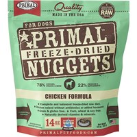Primal Freeze Dried Chicken Dog Food (14 oz)
