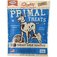 Primal Freeze-Dried Munchies - Turkey Liver (2 oz)