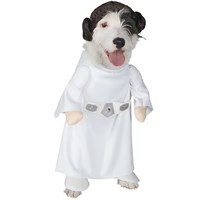 Princess Leia Dog Costume - Small