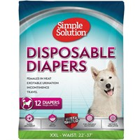 Image of Simple Solution Diapers XXL (12 Diapers)