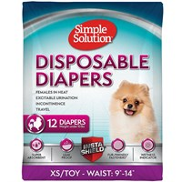 Image of Simple Solution Diapers XS (12 Diapers)