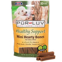 Pur Luv Healthy Support Hearty Chew Bones - Mini (26 oz)