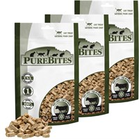 Purebites Beef Liver Cat Treat - 3 PACK (2.55 oz)