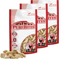 3-PACK PureBites Chicken Breast Dog Treat (34.8 oz)