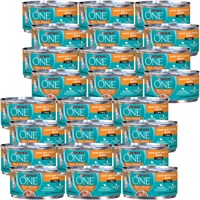 Image of Purina ONE Ideal Weight White Meat Chicken Recipe in Sauce Canned Cat Food (24x3 oz)