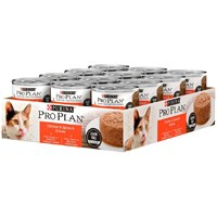 Purina Pro Plan Savor - Chicken & Spinach Entre Canned Adult Cat Food (24x3oz)
