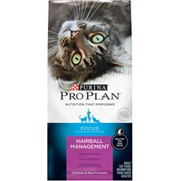 Purina Pro Plan Adult Cat Hairball Management Chicken & Rice (7 lb)
