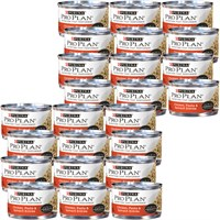 Image of Purina Pro Plan - Chicken, Pasta & Spinach Entree in Gravy Canned Adult Cat Food (24x3 oz)