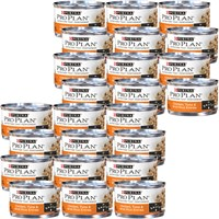 Image of Purina Pro Plan - Chicken, Tuna & Wild Rice Entree in Sauce Canned Adult Cat Food (24x3 oz)