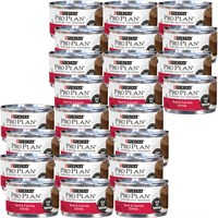 Image of Purina Pro Plan - Classic Grain Free Beef & Carrots Entree Canned Adult Cat Food (24x3 oz)