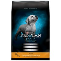 Purina Pro Plan Focus - Chicken & Rice Dry Puppy Food (34 lb)