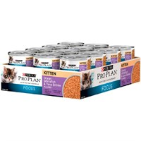 Purina Pro Plan Focus - Ocean Whitefish & Tuna Entre Canned Kitten Food (24x3oz)
