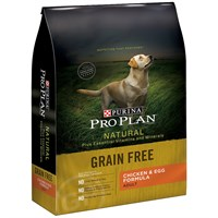 Purina Pro Plan Natural - Grain Free Chicken & Egg Dry Adult Dog Food (24 lb)