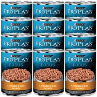 Purina Pro Plan Focus - Chicken & Rice Entre Canned Puppy Food (12x13oz)
