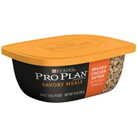 Purina Pro Plan Savory Meals - Braised Chicken Entre Adult Dog Food (10 oz)