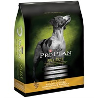Purina Pro Plan Selects Dog Chicken & Brown Rice (17.5 lb)