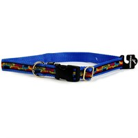 "Premier Quick Snap Collar - LARGE / BLUE (17""-18"")"