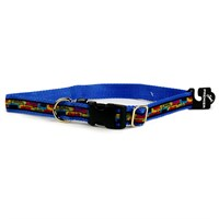 "Premier Quick Snap Collar - SMALL / BLUE (3/4"")"