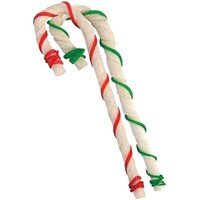 Ranch Rewards® Holiday Rawhide Candy Canes - 5In (12 Pack)