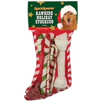 Ranch Rewards® Rawhide Holiday Stocking - Large (7 Pieces)
