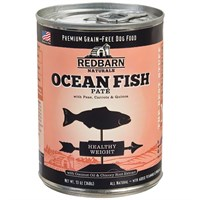 Redbarn Pate Healthy Weight Dog Food - Ocean Fish (13 oz)