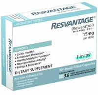 Resvantage for Humans (30 Liquid Capsules)