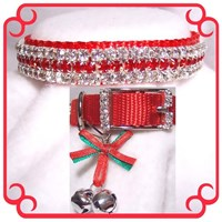 Rhinestone Dog Collars - Christmas Baby (Medium/Large)
